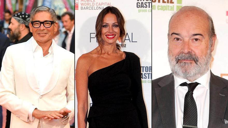 Boris Izaguirre, Eva González y Antonio Resines