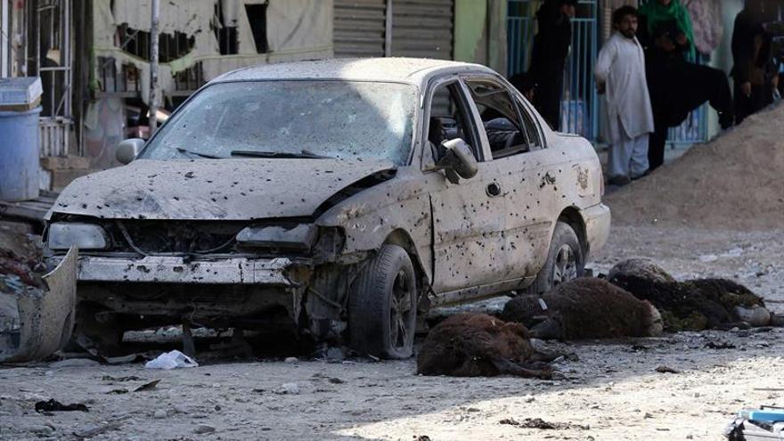 Al menos cinco muertos y 30 heridos en atentado en Kabul