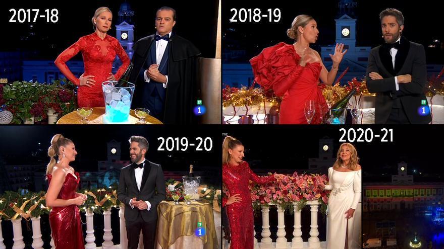 Las Campanadas de TVE los últimos años