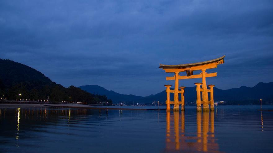El torii de Miyajima, una visita fundamental desde Hiroshima.