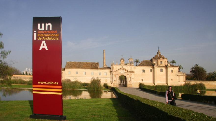 Sede de la UNIA en La Cartuja de Sevilla.