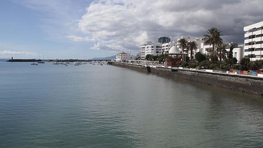 Marina de Arrecife. Foto: Felipe de la Cruz.