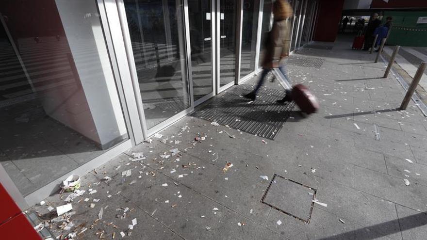 UGT decidirá el lunes si continúa la huelga de limpieza en Atocha y Chamartín