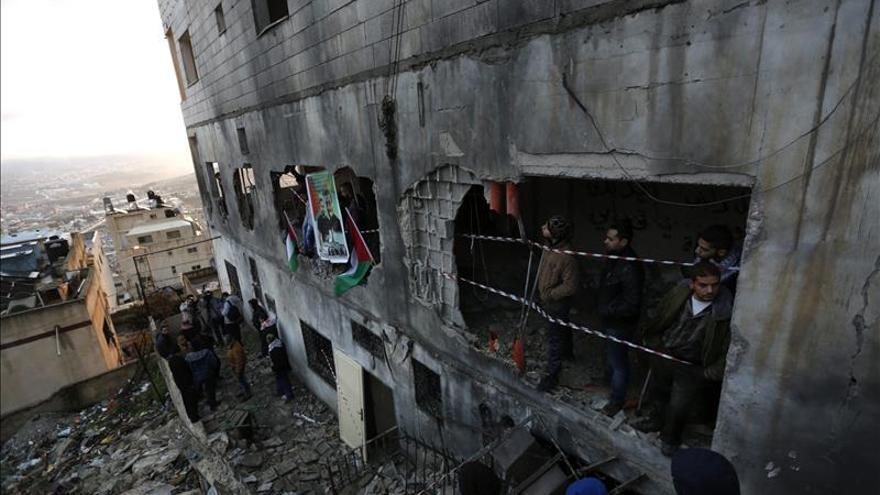 Israel derriba la vivienda de un palestino involucrado en el asesinato de israelíes