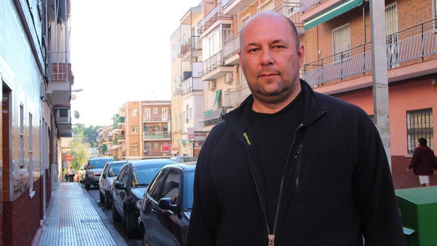 Atanás fue detenido durante el desahucio de Carmen Martínez en 2014
