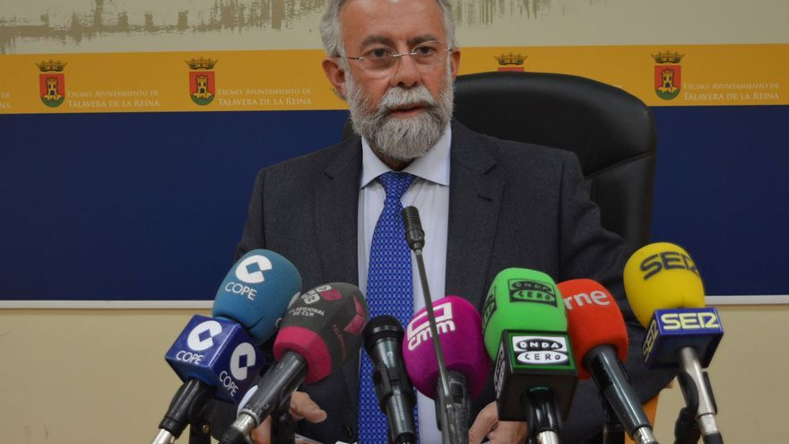 Jaime Ramos, hoy, en rueda de prensa