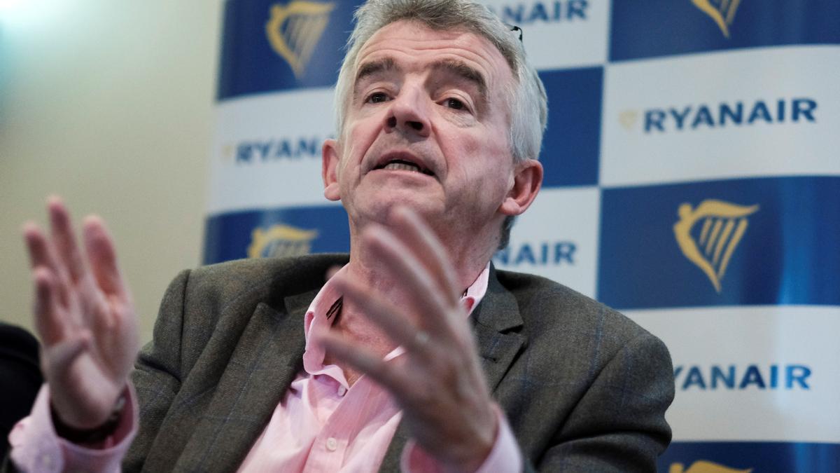 El consejero delegado del grupo empresarial de Ryanair, Michael O'Leary.