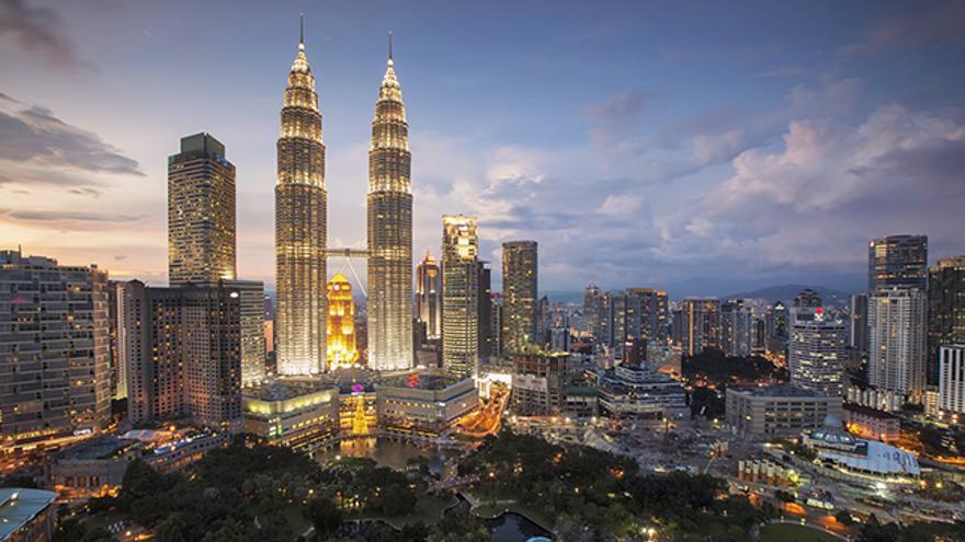 Kuala Lumpur, Torres Petronas, Malasia