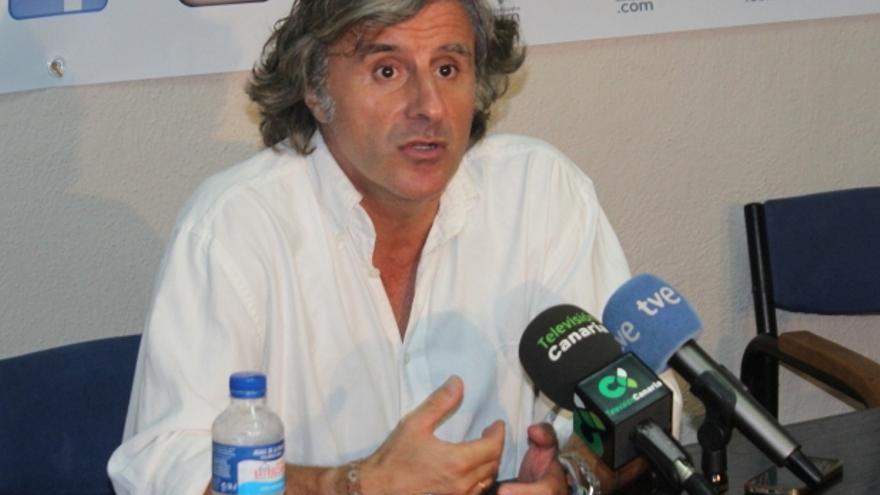 El entrenador Roberto Aguirre en una imagen de archivo. Foto: JOSÉ AYUT.