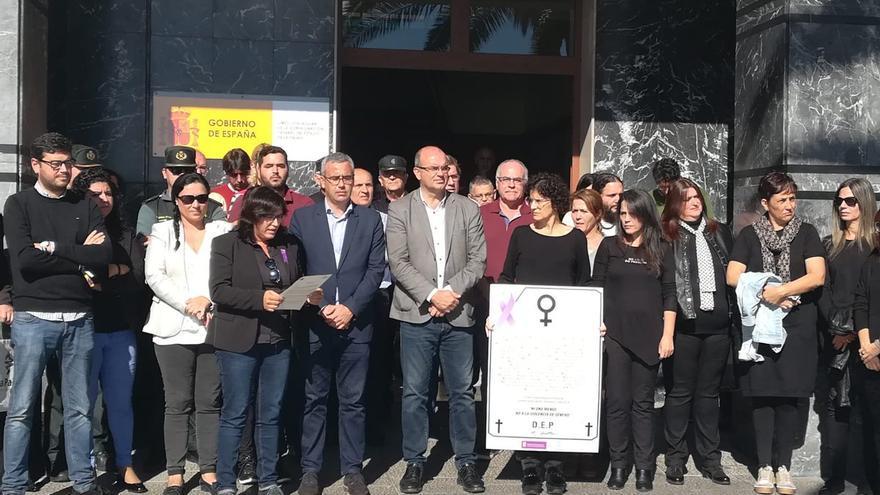 Acto contra la violencia de género.