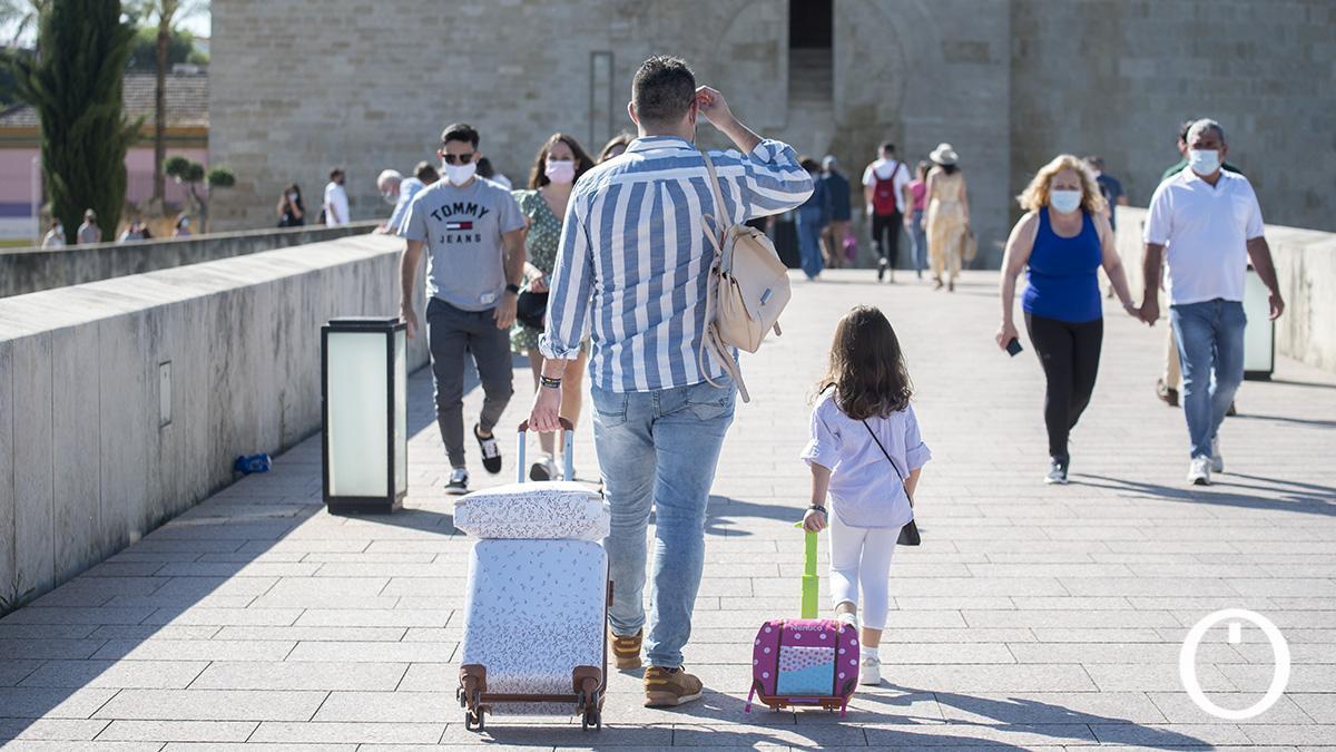 Turistas en Córdoba el segundo fin de semana de Patios