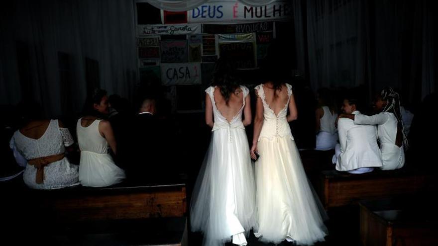 Las bodas homosexuales suben un 61 % en Brasil y aceleran tras la elección de Bolsonaro