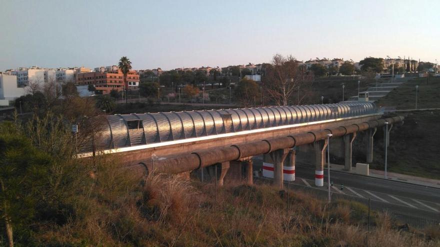 Vista del puente de La Asomadilla.