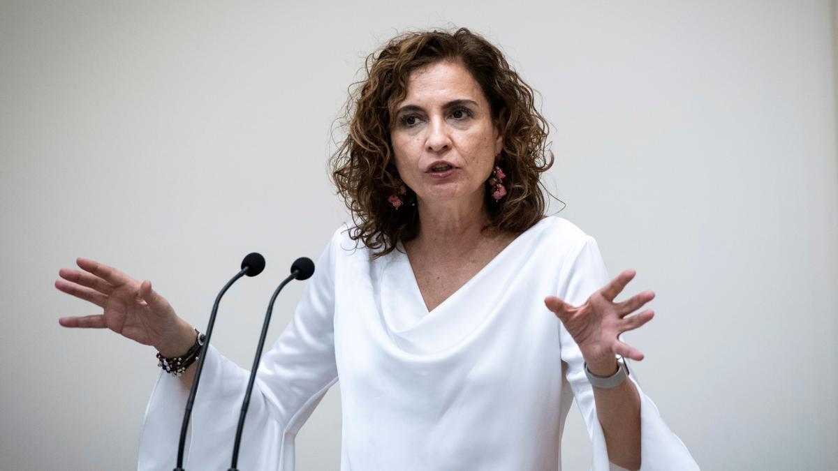La ministra de Hacienda y Función Pública, María Jesús Montero. EFE/Luca Piergiovanni/Archivo
