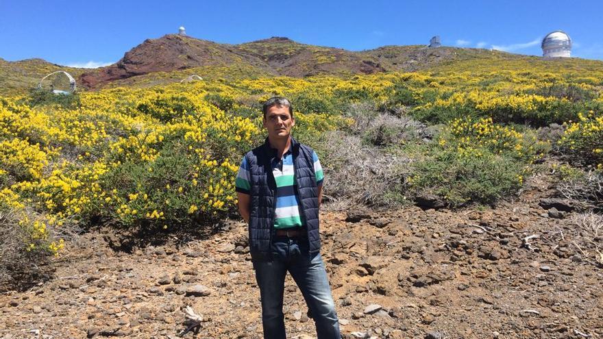 Jorge Gmelch es responsable de Mantenimiento y Servicios del Observatorio del Roque.