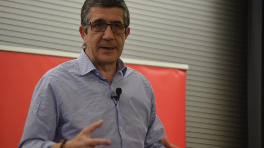 Patxi López buscará avales en su carrera para liderar el PSOE el próximo viernes en Villanueva de la Serena (Badajoz)