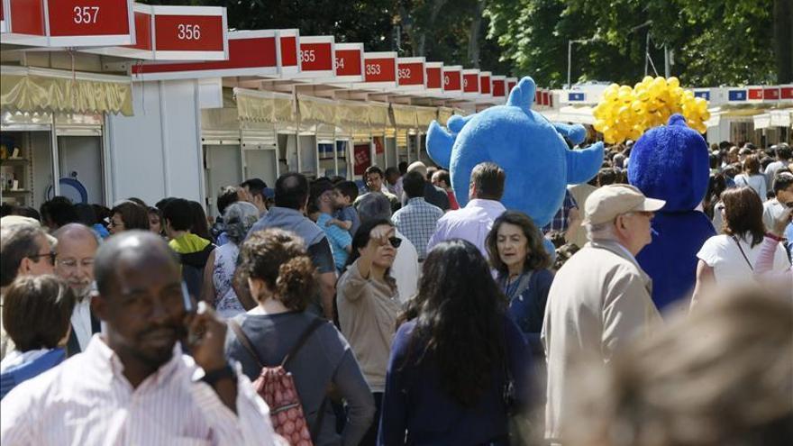 La Feria del Libro de Madrid aumenta un 6,1 por ciento su ventas