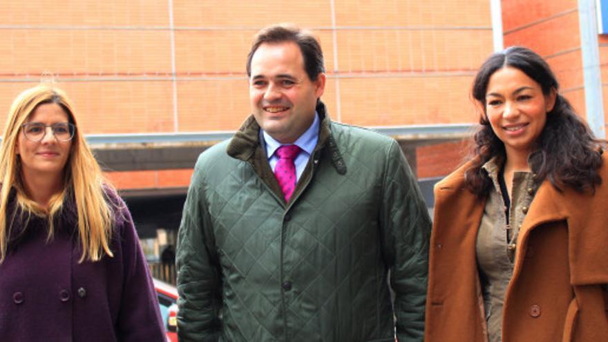 Carolina Agudo, Francisco Nuñez y Claudia Alonso FOTO: PP CLM