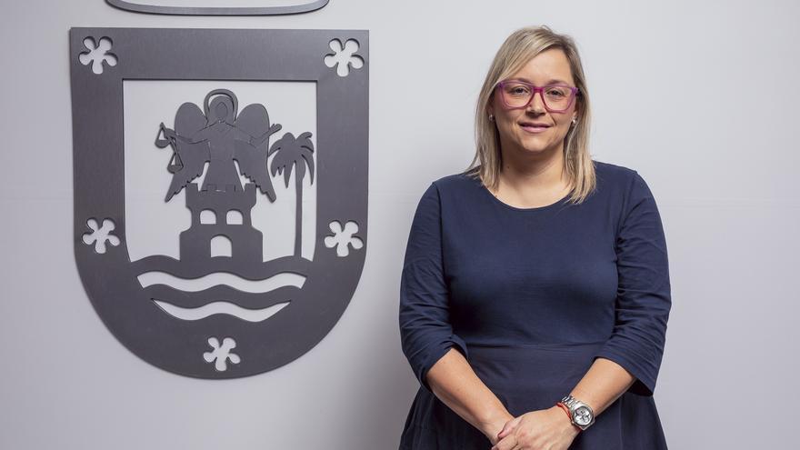 Nayra Castro, consejera de Hacienda y Recurso Humanos del Cabildo de La Palma.