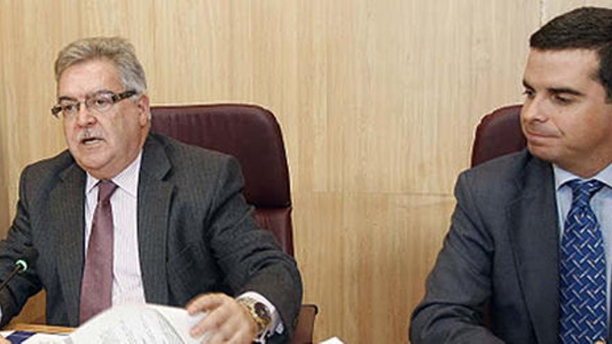 José Miguel Bravo de Laguna y Lucas Bravo de Laguna.