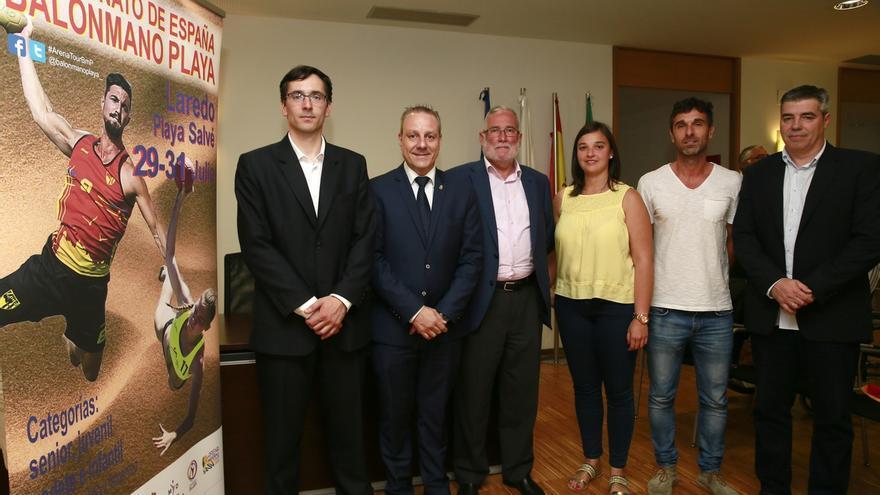 El Campeonato de España de Balonmano Playa reunirá en Laredo a 1.400 deportistas y técnicos del 29 al 31 de julio