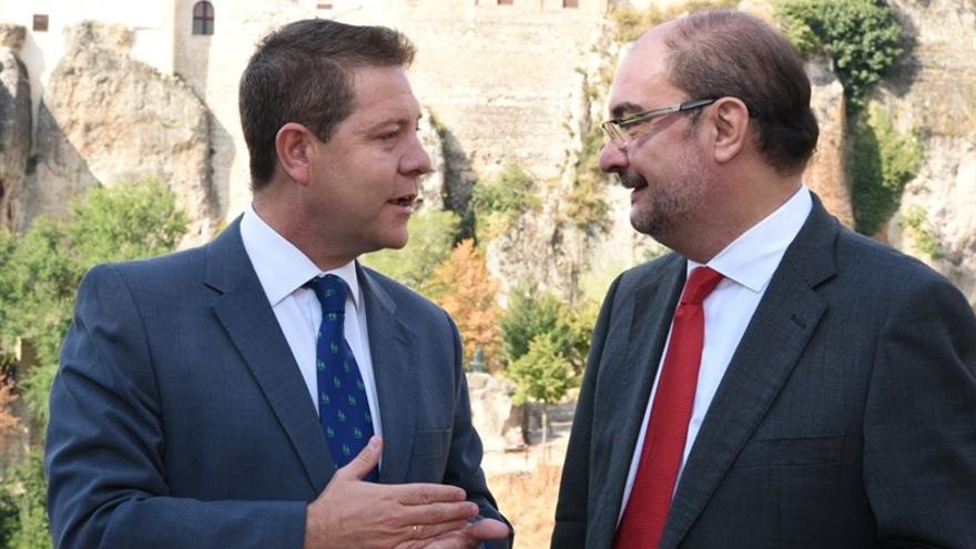 Emiliano García-Page y Javier Lambán, en Cuenca / JCCM