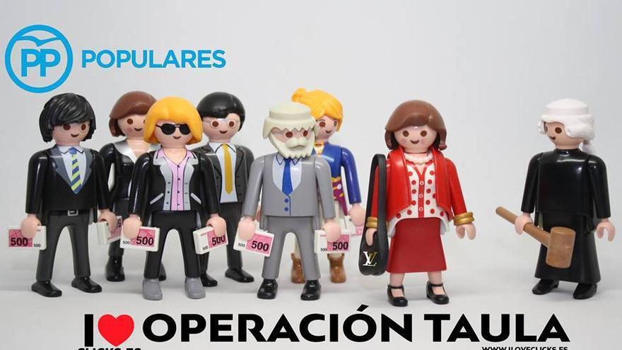 I love Operación Taula