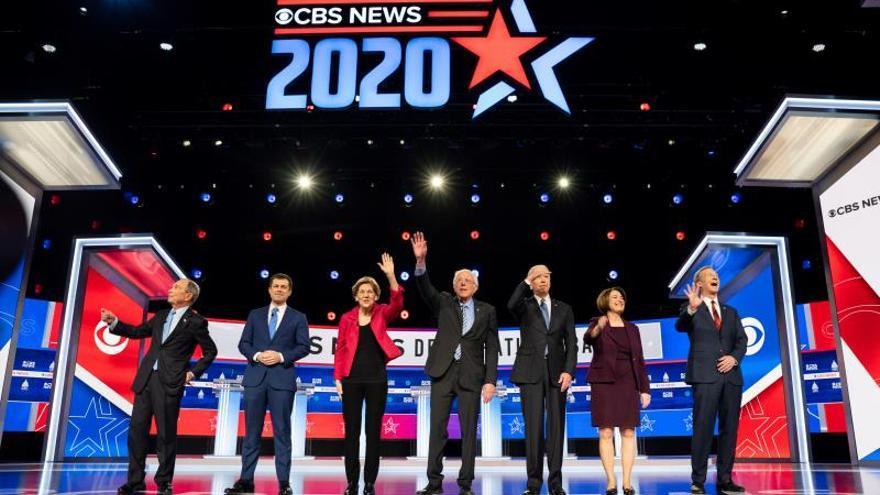 Empieza el debate demócrata de Carolina del Sur, el último antes del Súper Martes