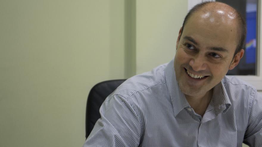 Saül Gordillo, autor de Sobirania.cat / A. Navarro