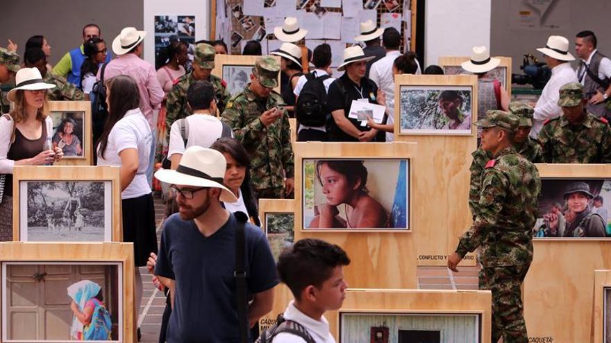 Una exposición fotográfica muestra el impacto del conflicto en las mujeres colombianas