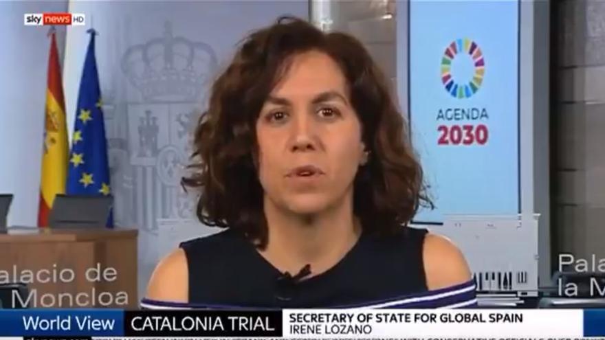 Irene Lozano, secretaria de Estado de España Global