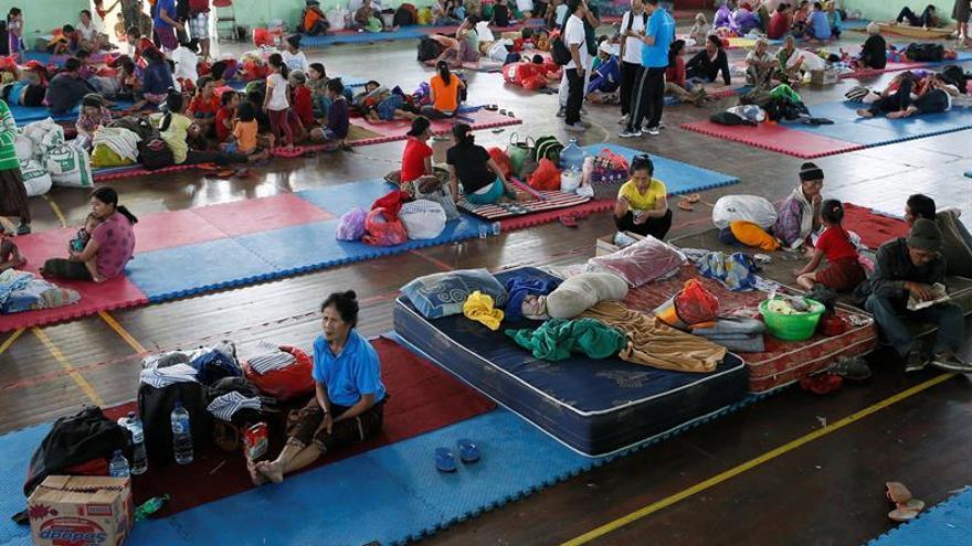 Aumentan a 15.000 los evacuados debido a actividad del volcán Agung en Bali