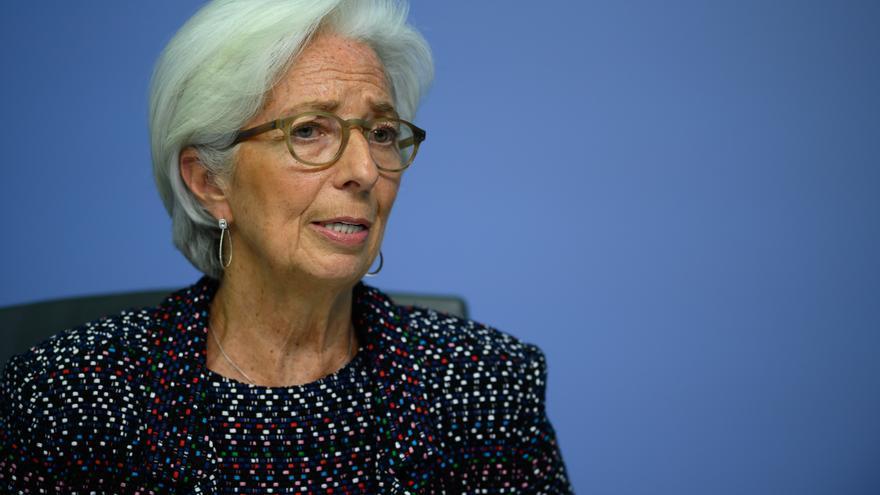 La presidenta del BCE, Christine Lagarde