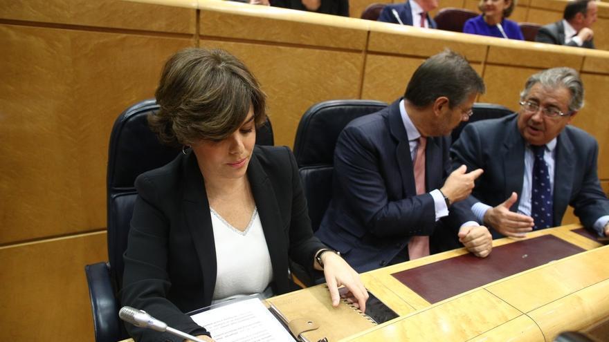 """Santamaría dice que Podemos tiene un """"proyecto abrasivo"""" y que el primero que se ha quemado es el partido"""