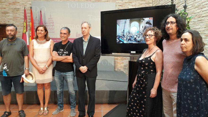 Presentación del Festival de Poesía Voix Vives en Toledo