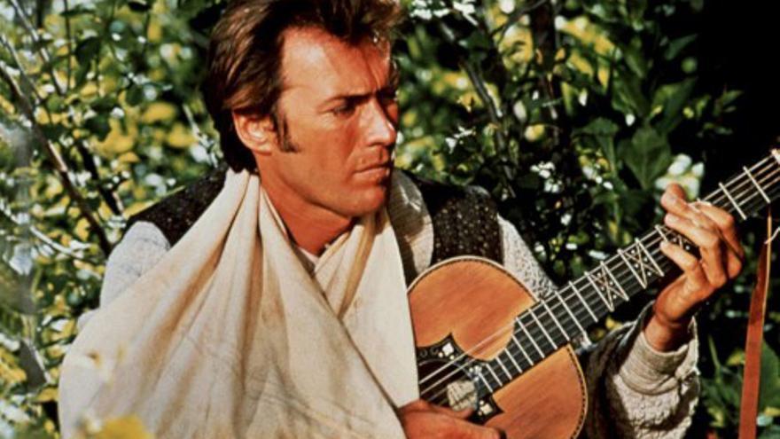 Clint Eastwood en 'Paint your wagon'
