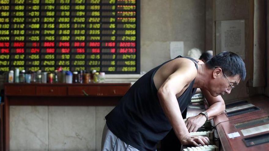 La bolsa de Shanghái gana un 1,16 por ciento al cierre