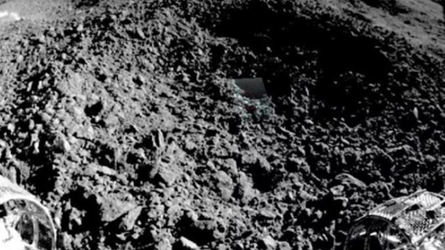 China publica un estudio sobre una rara sustancia verde, brillante y gelatinosa hallada en el lado oculto de la Luna
