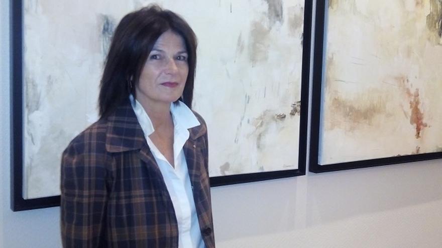 La presidenta de la Real Federación Española de Vela (RFEV), Julia Casanueva,