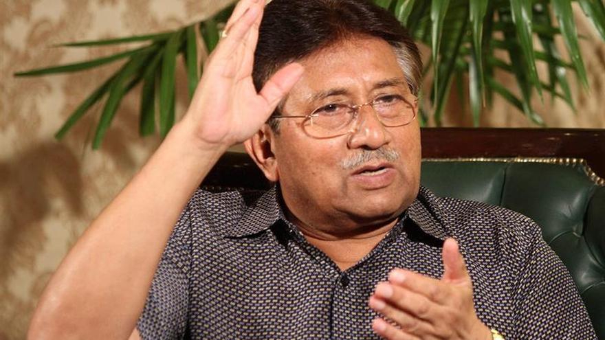 Un tribunal paquistaní declara a Musharraf fugitivo de la justicia