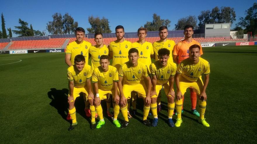 Formación de la escuadra amarilla para el duelo ante el Atlético de Madrid