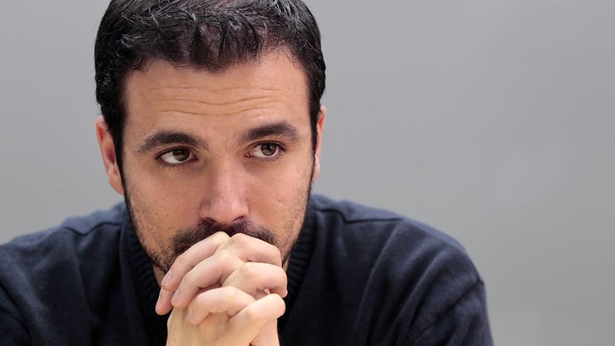 El diputado de Izquierda Unida Alberto Garzón. / Marta Jara