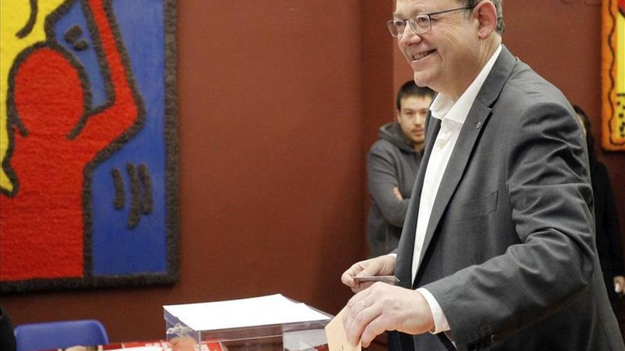 Puig anima a valencianos a votar para lograr una mayor cohesión social