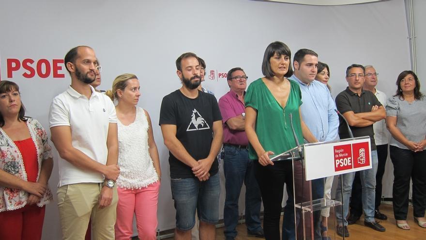 """Veracruz se presenta como el """"capital político"""" que necesita el PSOE de Murcia para echar al PP"""