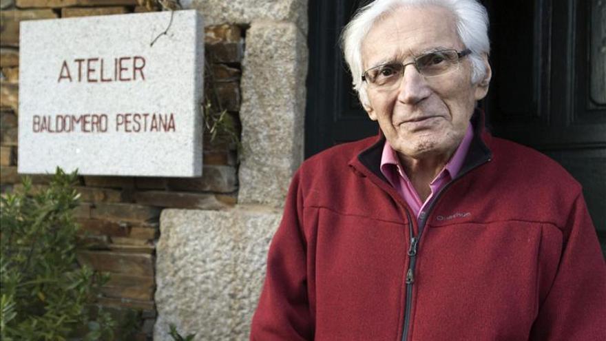 """Pestana, pintor, 95 años, afirma """"mi meta es el Renacimiento pero soy contemporáneo"""""""