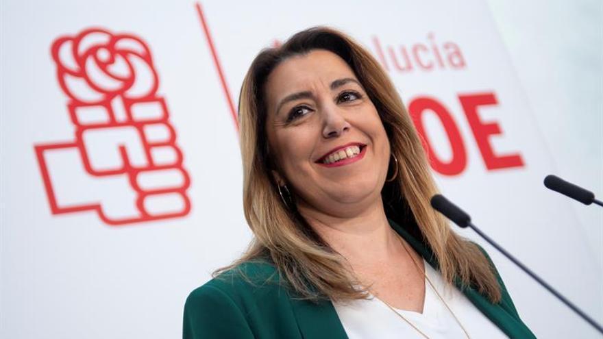 """Susana Díaz anuncia que repetirá como candidata para """"recuperar"""" Andalucía"""