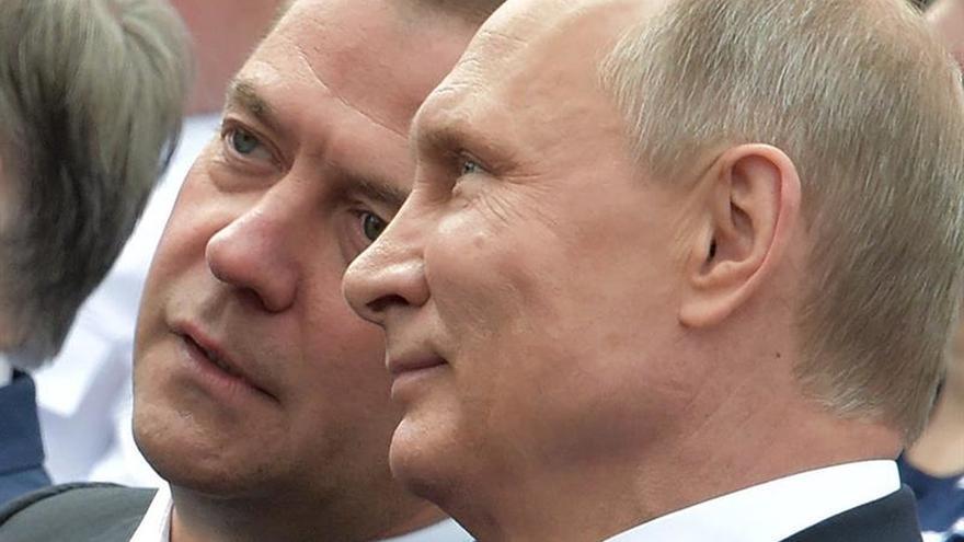 Medvédev, líder de Rusia Unida, optimista sobre las legislativas pese a los sondeos