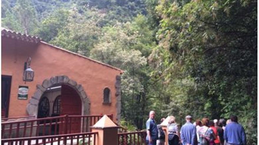 El Centro de Visitantes de Los Tilos (en la imagen), se encuentra en el municipio de San Andrés y Sauces.
