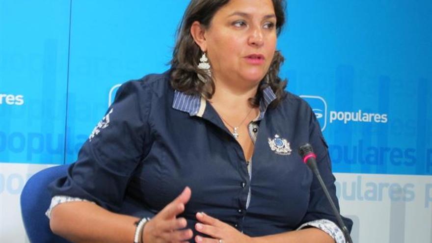 Cesarea Arnedo, diputada regional del PP en Castilla-La Mancha / Foto: Europa Press