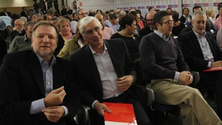 Barreda comite federal psoe